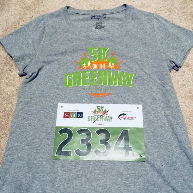 Freemorewest 5k on the Greenway – Giant Step Outside